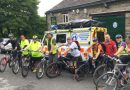 Emmaus runners and riders support Oldham MRT