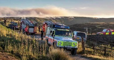 The Oldham Mountain Rescue team 1