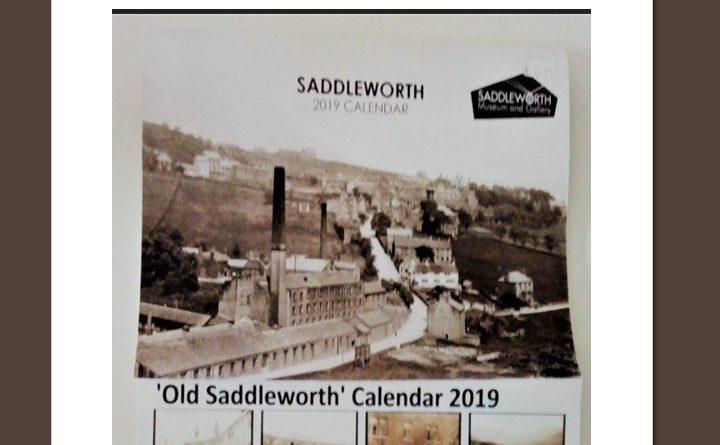 Saddleworth Museum 2019 calendar promotion