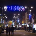 Countdown to Christmas in Oldham town centre