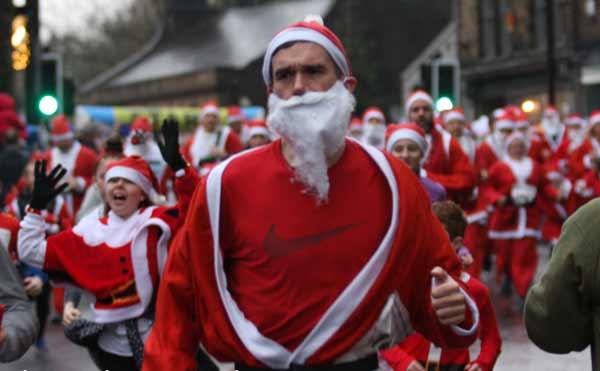 Saddleworth Santa Dash 2018, another great success!