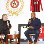 DIGGLE FC CELEBRATE 60TH ANNIVERSARY WITH ENGLAND AND MANCHESTER UNITED LEGEND PAUL PARKER