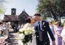 Congratulations Rachel and Ian @ St. Annes Church in Lydgate