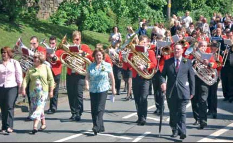 Travelling Back In Time - Whit Friday - 2007 Brass Band