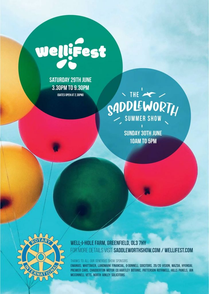 Wellifest- The best community charity music event in Saddleworth!