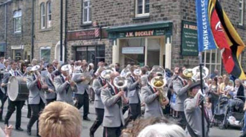 Saddleworth Brass band 2007