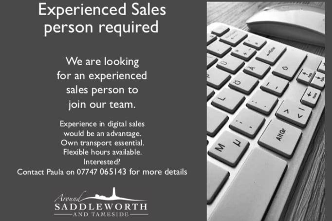 Around Saddleworth sales team