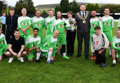 Charity football match raises £2,800 for Mayor's Homelessness Fund