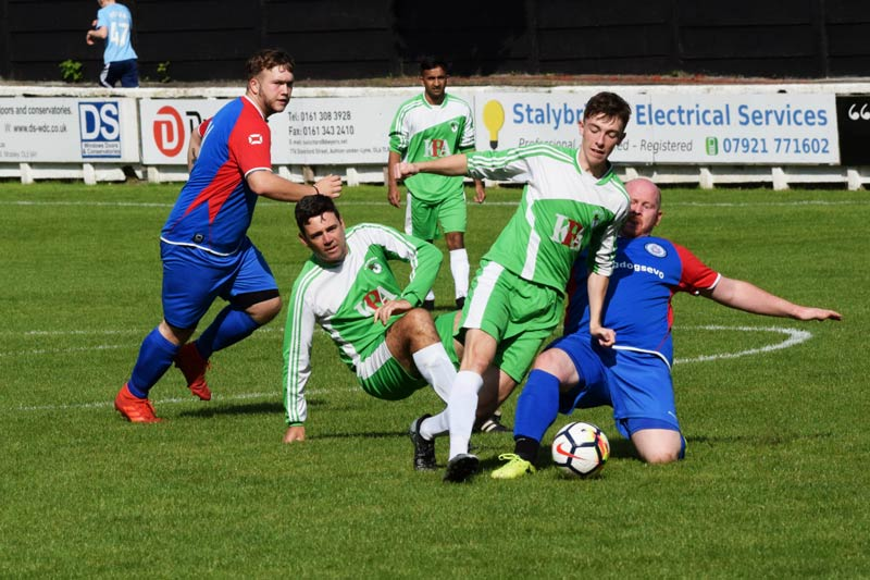 Players-taking-part-in-the-Emmaus-Vs-GMP-Charity-Match---image-credit-Bob-Parkinson