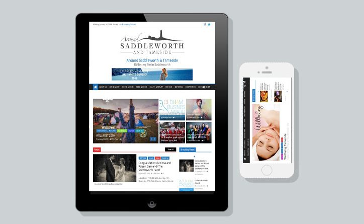 Aroundsaddleworth Magazine website