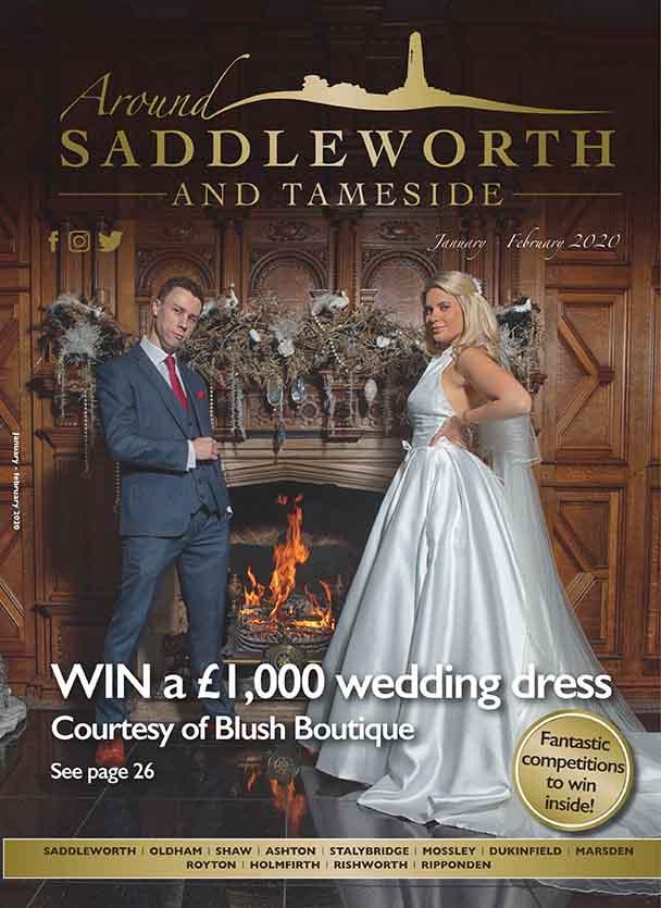 around-saddleworth-magazine-wedding-photo-shoot-front-cover