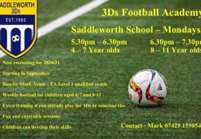 Revamped Saddleworth 3Ds Football Academy